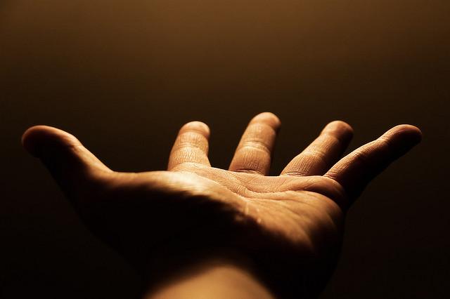Reaching-Hand
